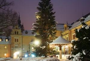 Winter im Hotel Kliczkow (© Hotel Kliczkow)