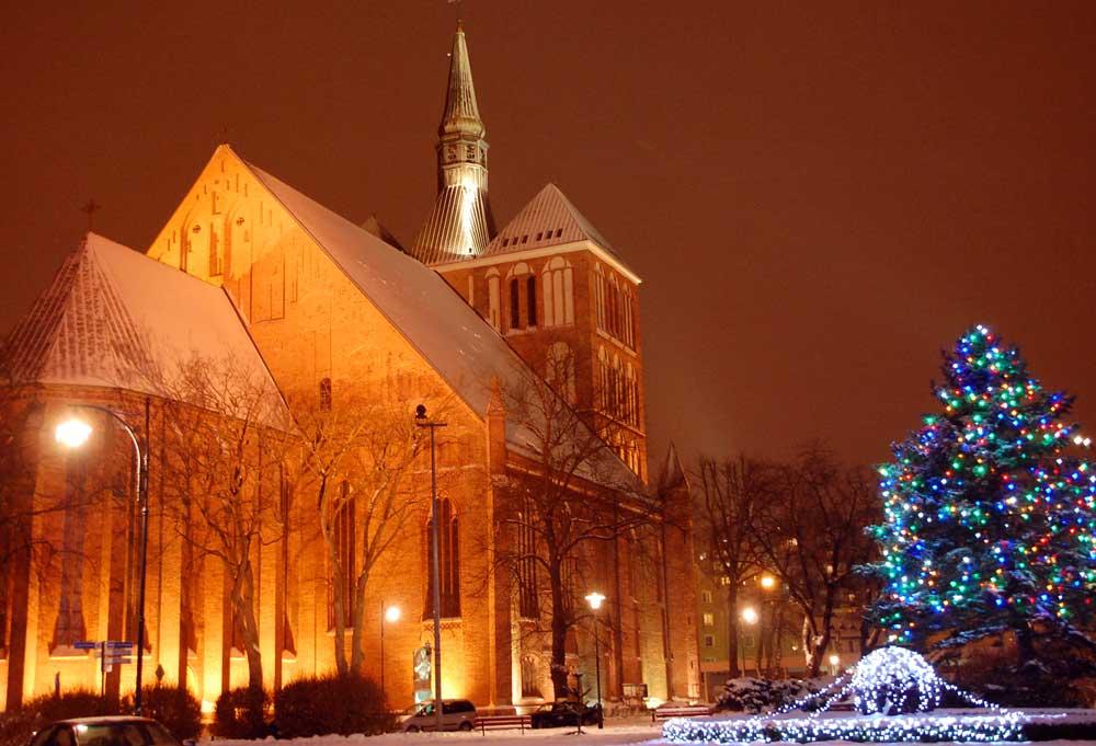 Weihnachten in Kolberg. Foto: Kolberg-Cafe.de