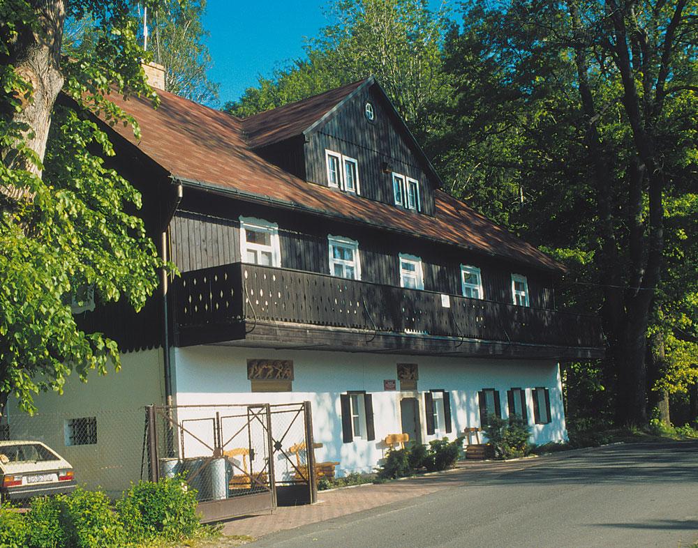 Carl- und Gerhart-Hauptmann-Haus in Schreiberhau (© Zygmund Trylański)
