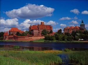 Burg Marienburg. Foto: Polnisches Fremdenverkehrsamt