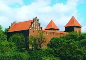 Burg Neidenburg. Foto: Polnisches Fremdenverkehrsamt