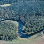 Der Fluss Krutyna. Foto: Polnisches Fremdenverkehrsamt