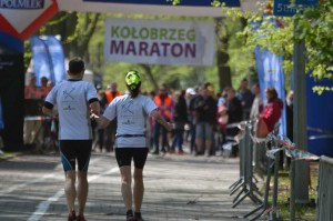 Zieleinlauf Kolberger Marathon