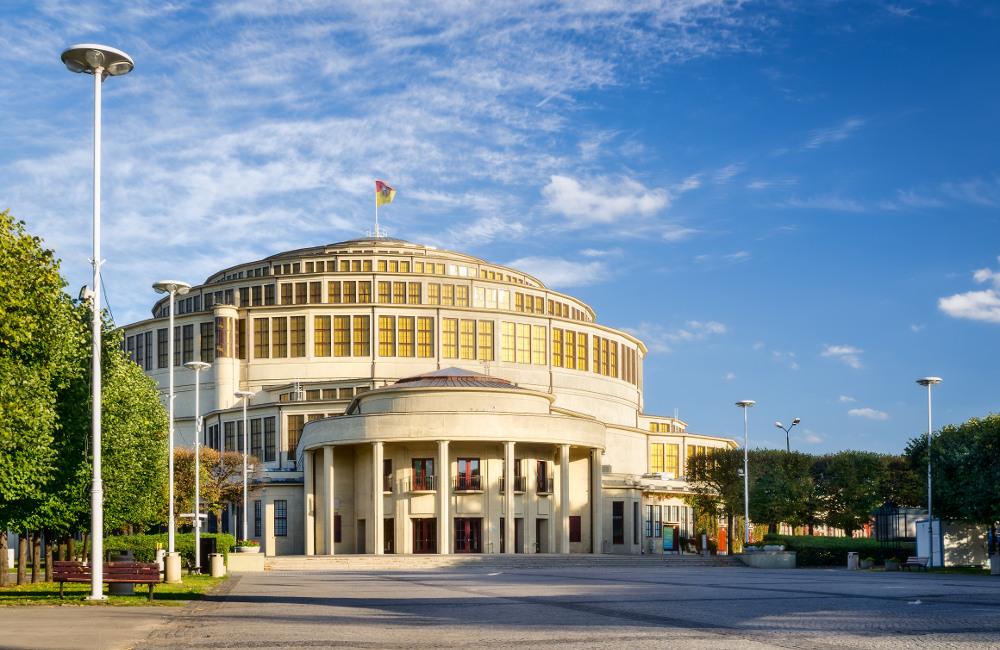Außenansicht Jahrhunderthalle Breslau, Foto: Hala_Stulecia_03
