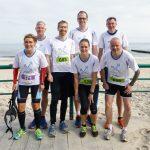 Kolberg-Marathon und Halbmarathon - brylla reisen-Team vor dem Start