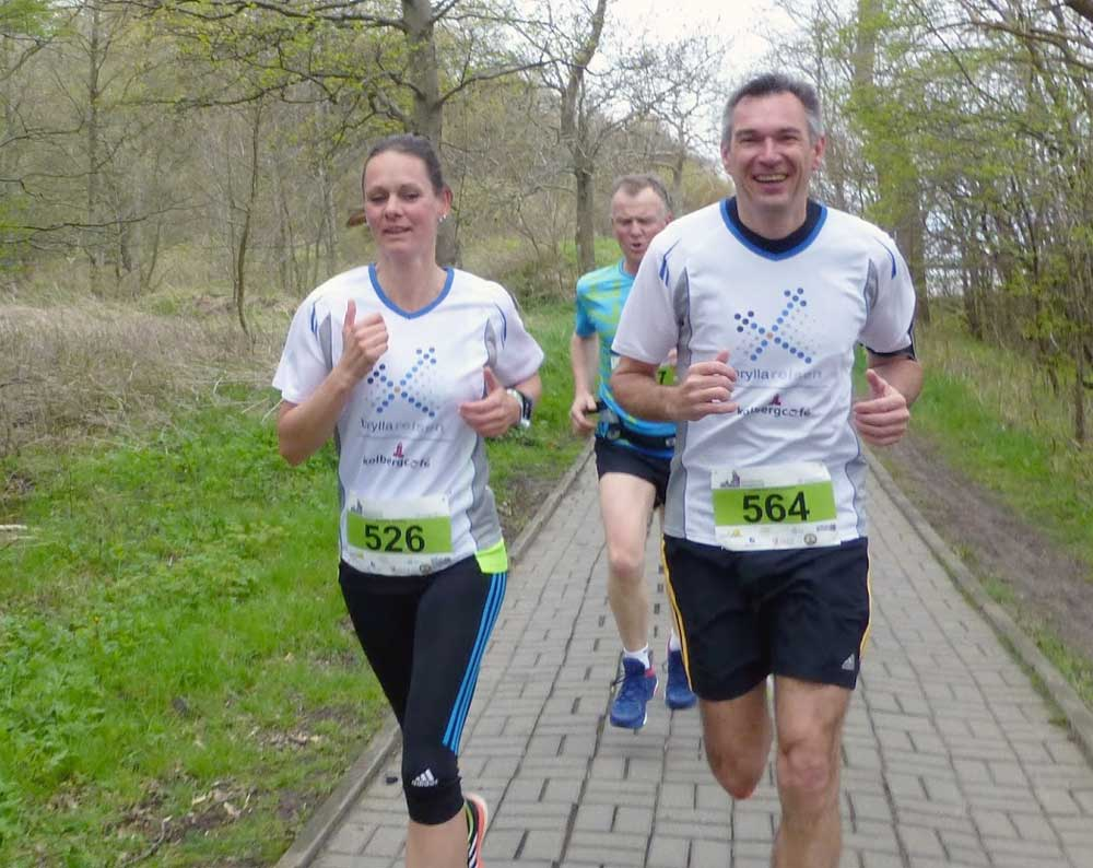 brylla reisen-Läufer beim Halbmarathon
