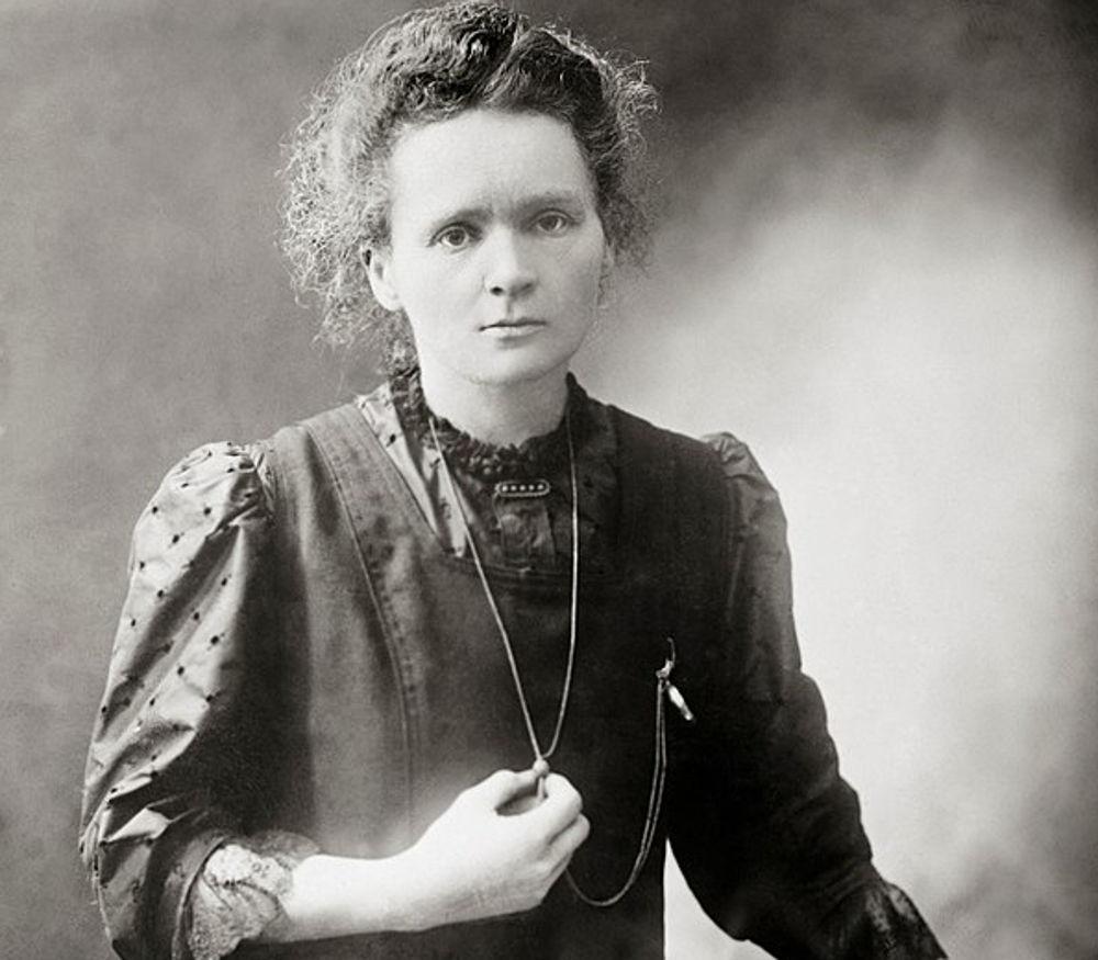 Marie Curie (Public Domain)
