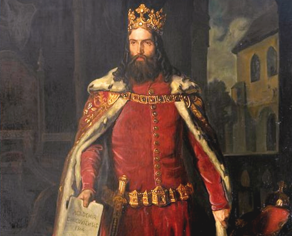 Kasimir der Große von Leopold Löffler (© Public Domain)