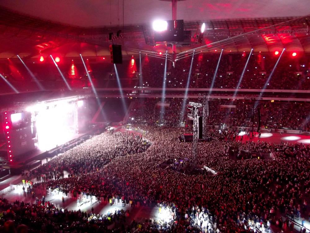 Konzert Nationalstadion (© Piotr-Drabik)