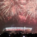 Neujahrsfeier Warschau Nationalstadion (© Wistula)