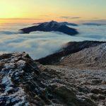 Winterliche Berggipfel im Bieszczady-Gebirge (© Bettomsik)