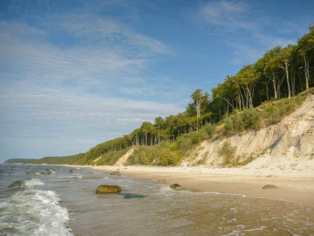 Misdroy Nationalpark Wolin Kliff (© ZADROGA)