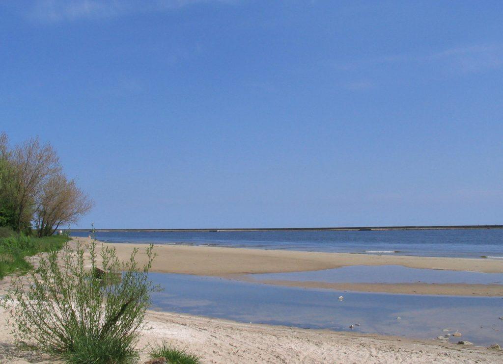 Zu sehen ist ein Strand bei Swinemünde, Bild: A13ean