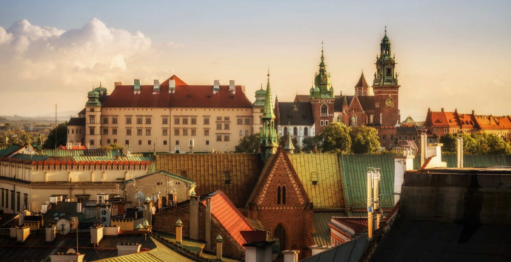 Zu sehen ist der Krakauer Schlosshügel, Bild: Qvidemus