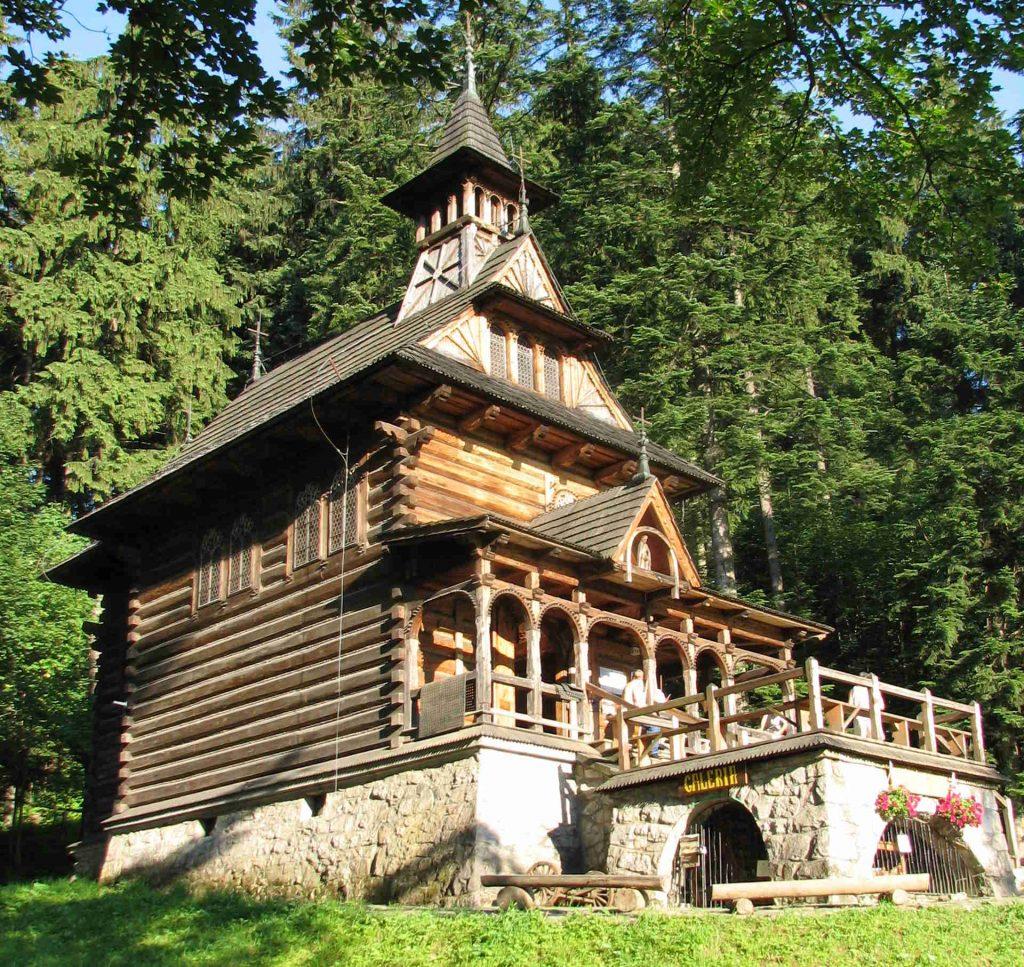 Zakopane Herz-Jesu-Kapelle, Bild: Ed88