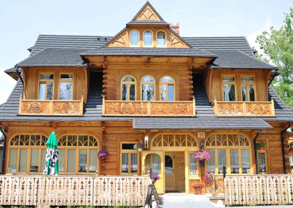 Villa-Konstantynówka in Zakopane, Bild: Deszcze