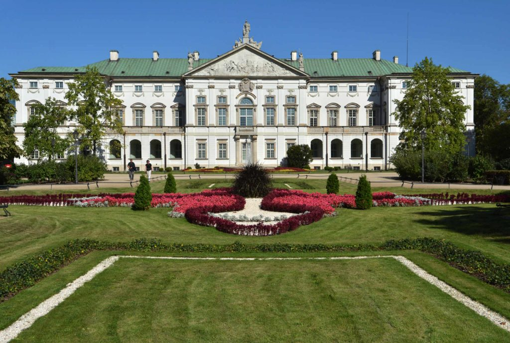 Zu sehen ist der Warschauer Palast der Republik, Bild: Janusz Drzewucki