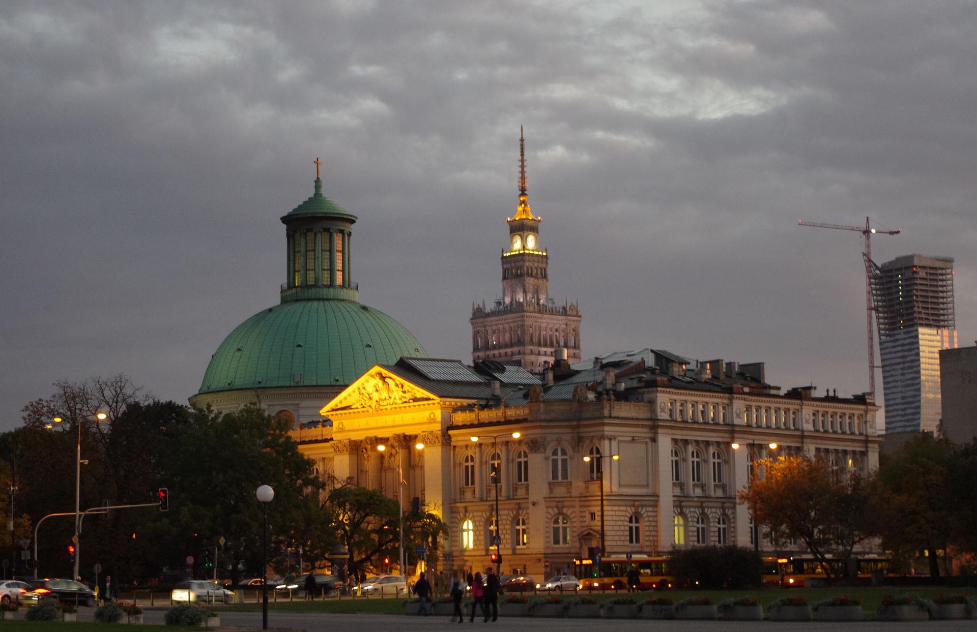 Zu sehen ist der Warschauer Józef-Piłsudski-Platz, Bild: Mateusz Opasiński