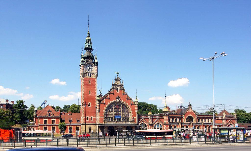 Zu sehen ist der Danziger Hauptbahnhof, Bild: Elke Wetzig Elya