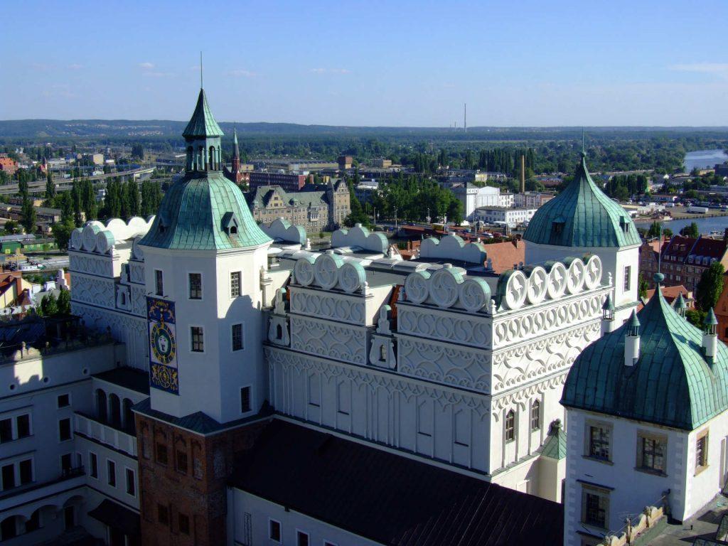 Zu sehen ist das Stettiner Schloss, Bild: Dr benway