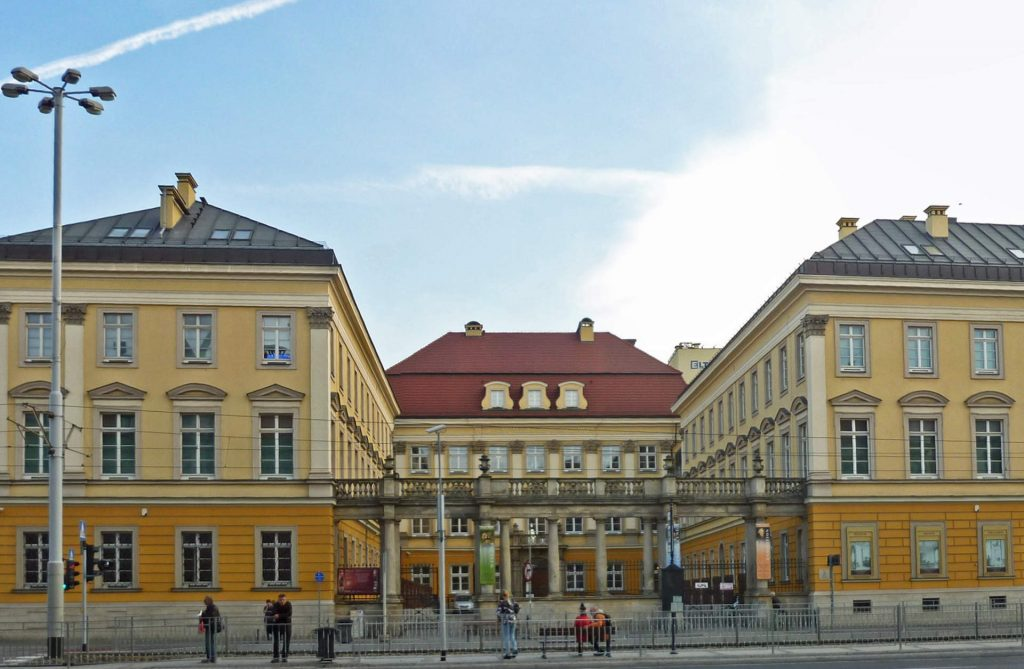 Zu sehen ist das Breslauer Stadtschloss, Bild: SchiDD