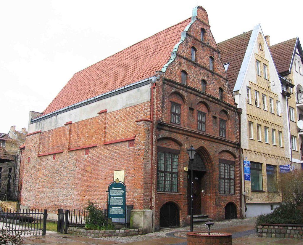 Zu sehen ist, das Haus des Geschlechts der Schlieffen in Kolberg, Bild: Jdavid