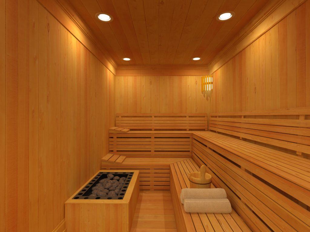 Zu sehen ist eine Sauna, Bild: Todtanis