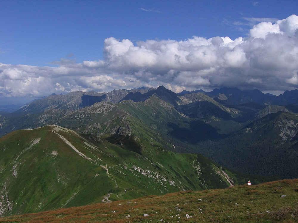 Hohe Tatra von Malolaczniak betrachtet (© Leafnode)