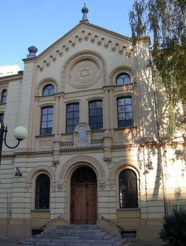 Warschauer Nozyk Synagoge (© Jacques Lahitte)