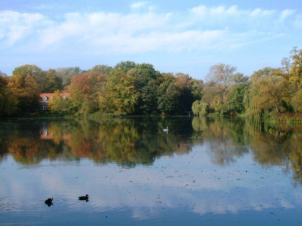 Zu sehen ist der Sołacki-Park in Posen, Bild: Radomil-talk