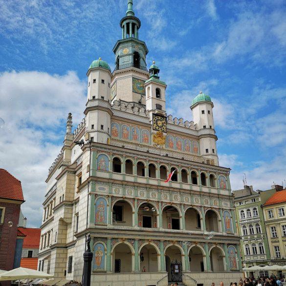 Zu sehen ist das Posener Rathaus, Bild: Maciej Olanicki