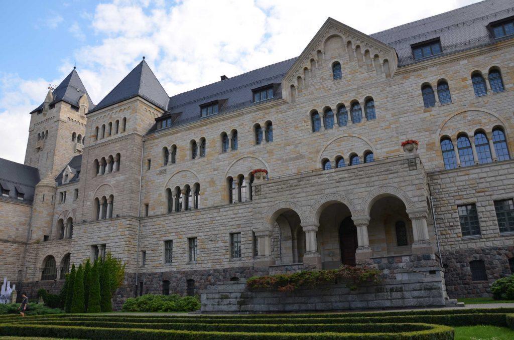 Zu sehen ist das Posener Residenzschloss, Bild: Błażej Cisowski