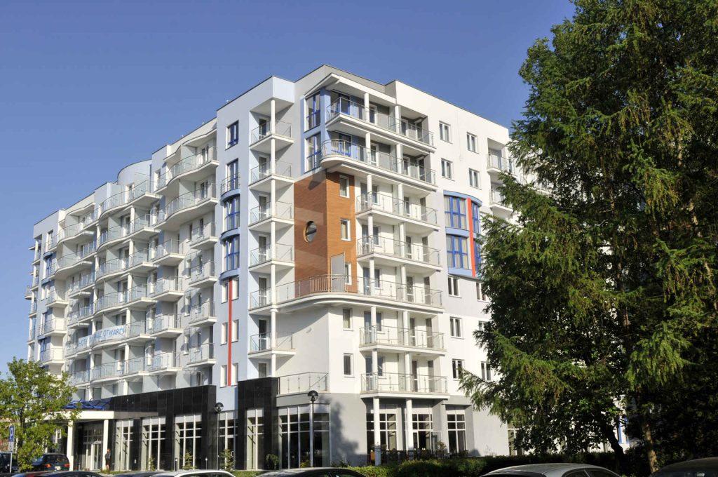 Zu sehen ist die Außenansicht des Hotel Diva Spa in Kolberg, Bild: Hotel Diva Spa