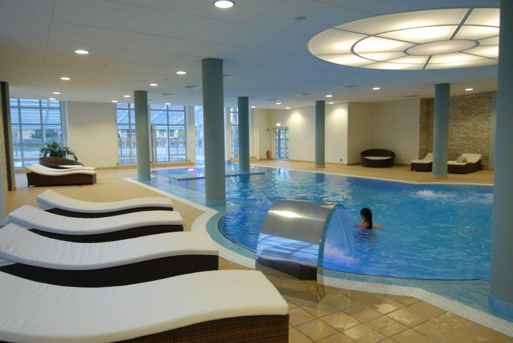 Zu sehen ist ein Pool im Hotel Diva Spa in Kolberg, Bild: Hotel Diva Spa