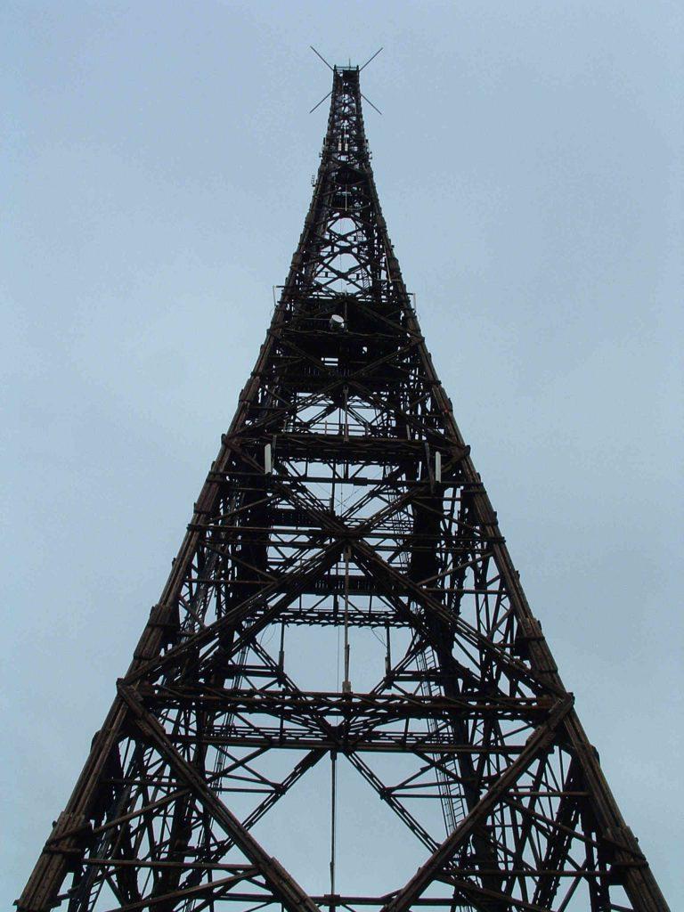 Zu sehen ist der Gleiwitzer Funkturm, Bild: Webstreichercommonswiki