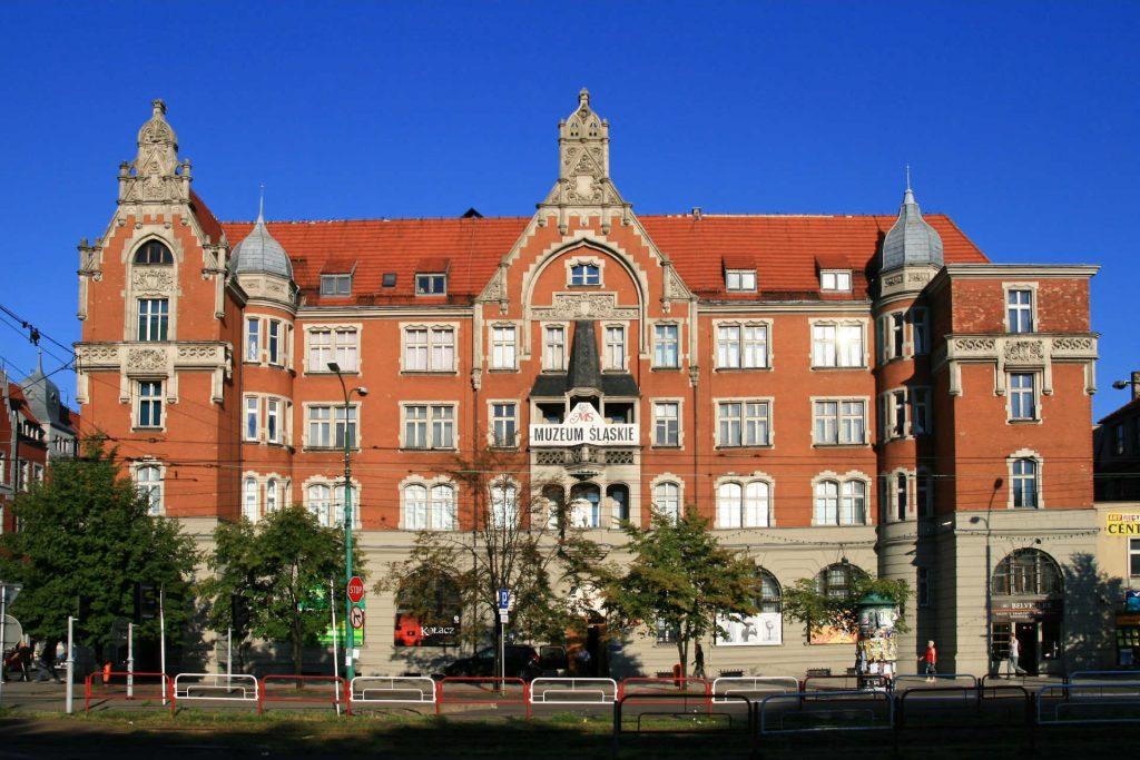 Zu sehen ist das Alte Schlesische Museum in Kattowitz, Bild: Lestat Jan Mehlich