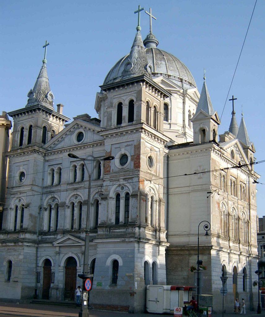 Zu sehen ist die Heilig Geist Kirche in Łódź, Bild: Ralf Lotys Sicherlich