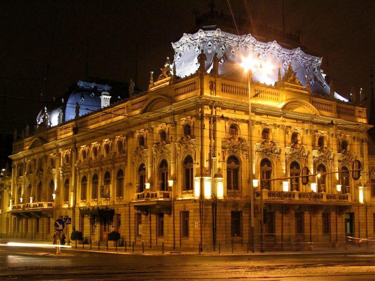 Zu sehen ist der Palast Israel Poznański in Łódź, Bild: Jakub Zasina