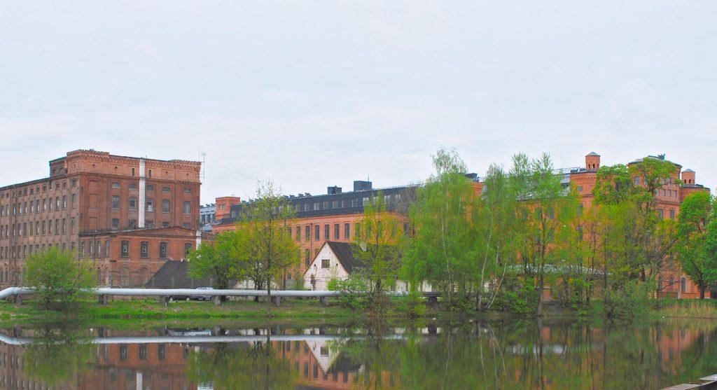 Zu sehen sind Lofts in der alten Scheibler-Fabrik in Łódź, Bild: Polimerek