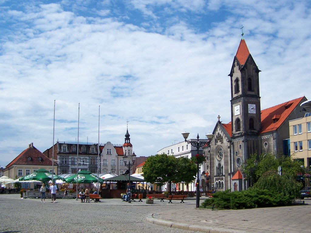 Zu sehen ist der Marktplatz von Tarnowitz, Bild: Lestat Jan Mehlich