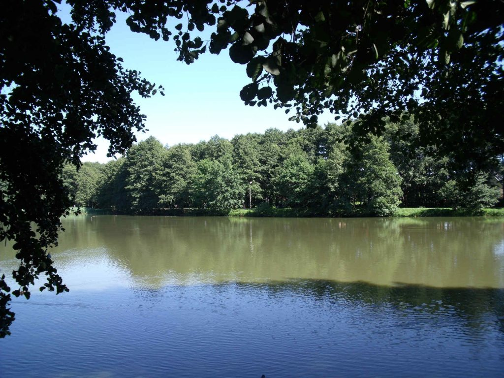 Zu sehen ist der Północny-Park in Tychy, Bild: Olerys