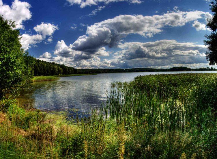Zu sehen ist der Goldapgarsee der Masurischen Seenplatte, Bild: Semu