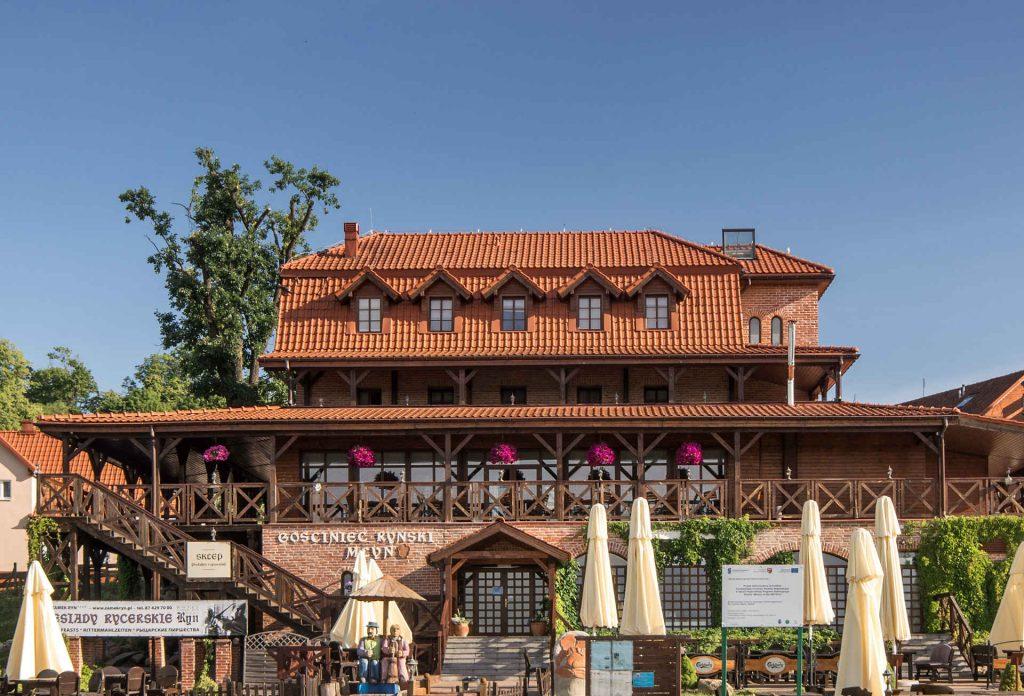 Zu sehen ist die Ehemalige Wassermühle in Rhein, Bild: Sławomir Milejski