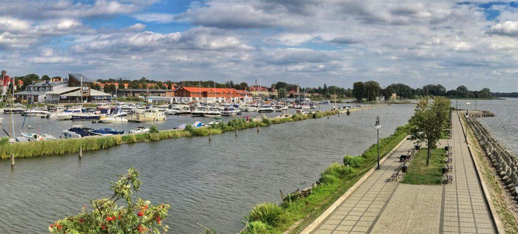 Zu sehen ist die Marina in Lötzen, Bild: Lesnydzban