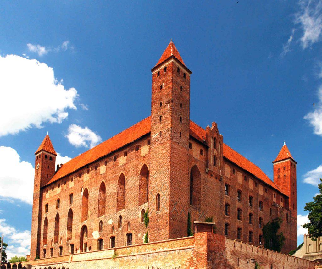Zu sehen ist die Burg in Mewe, Bild: Polimerek