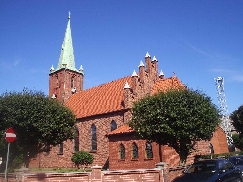 Zu sehen ist die Antoniuskirche in Kusfeld,Bild: Jan Jerszyński