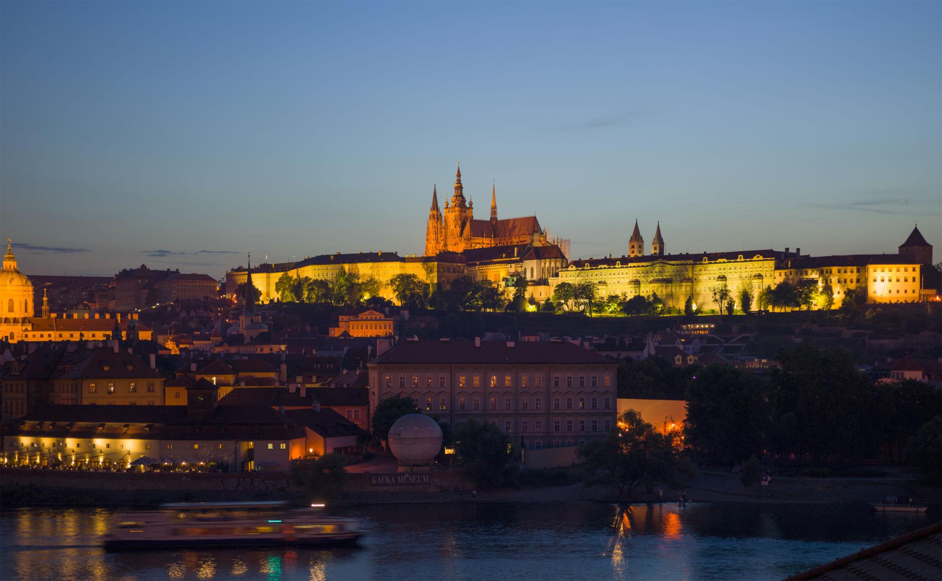 Zu sehen ist das Prager Schloss, Bild: Godot13