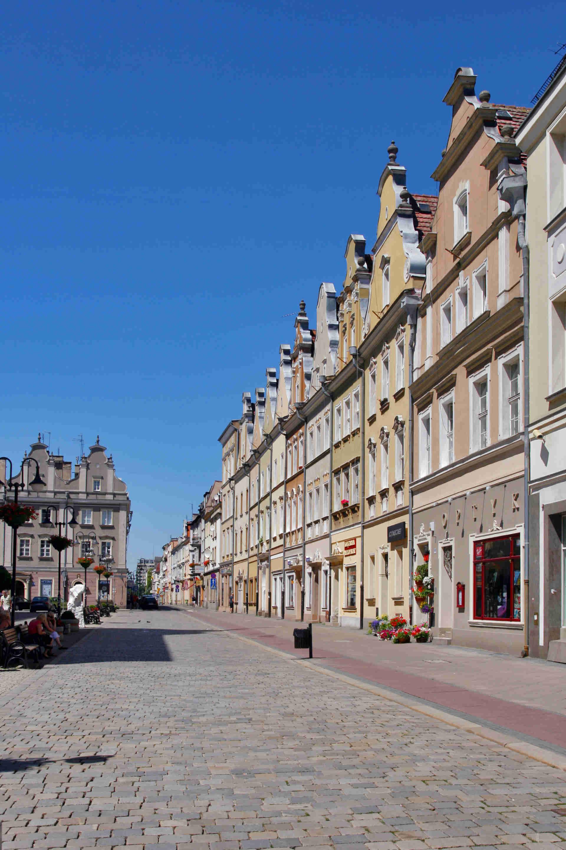 Zu sehen ist der Marktplatz von Oppeln, Bild: Lestat Jan Mehlich