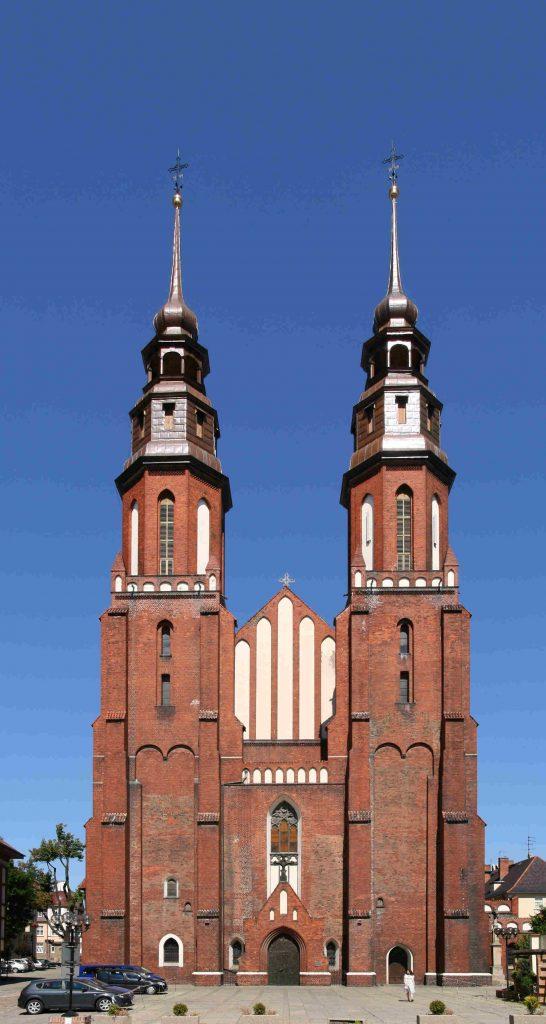 Zu sehen ist die Oppelner Domkirche zum Heiligen Kreuz, Bild: Lestat Jan Mehlich