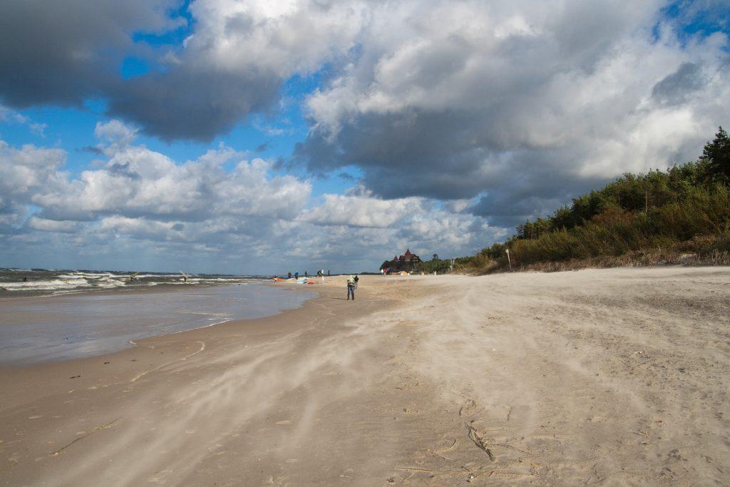 Zu sehen ist Strand in Leba, Bild: Tomasz Chorwat